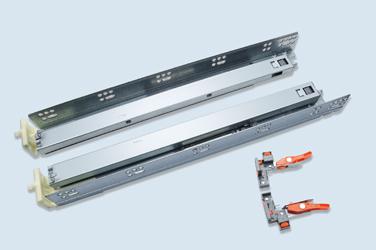 N3F1Z  美式三节隐藏式缓冲滑轨