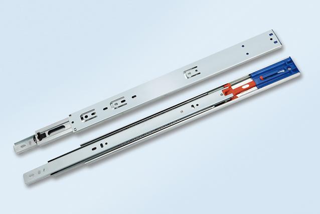 SH4501FC-03B 三节缓冲钢珠滑轨